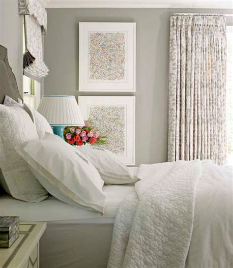 grey walls bedroom gray walls transitional bedroom farrow drag paper house beautiful