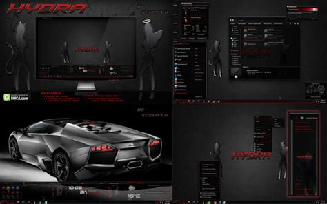 cool themes for windows 10 10 very cool dark windows 7 themes for 2014
