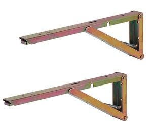 Drop Leaf Table Brackets Sprung Hinged Folding Drop Leaf Table Worktop Shelf Support Bracket 40k Per Pair Ebay