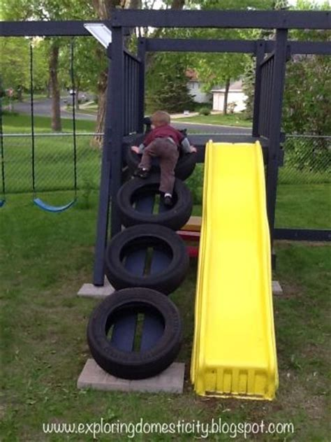 how to hang a tire swing without a tree swing sets swings and ladder on pinterest