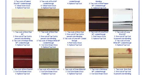 general finish colors and combos milk paints glaze woodworkers doc general finishes