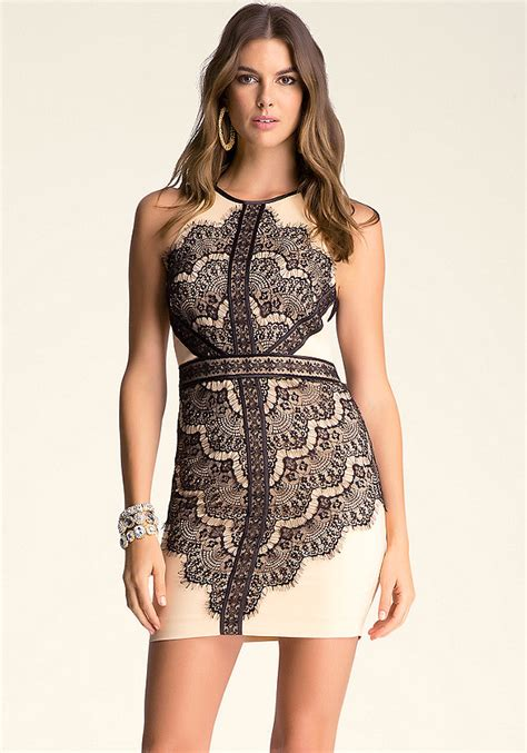 Bebe Dress 9 lace halter dress bebe