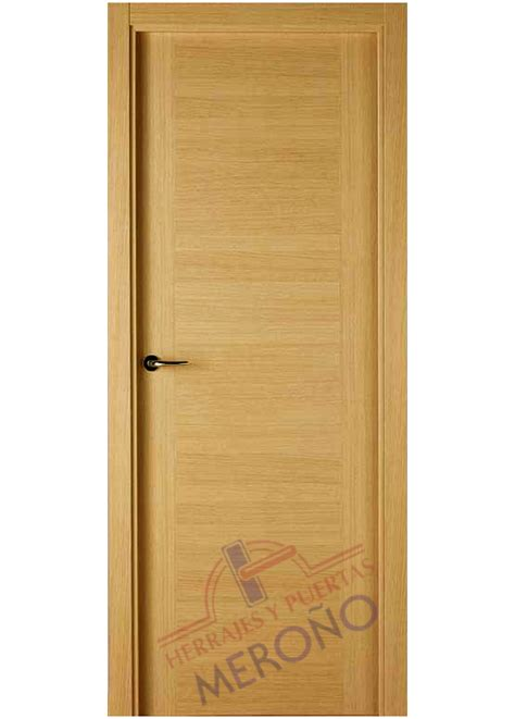 puerta interior madera puerta de roble barnizada de interior mod 7300