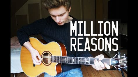 bad gaga acoustic instrumental guitar cover gaga million reasons guitar cover instrumental