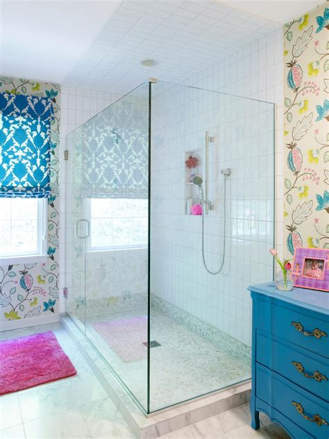 bathroom for girls multicolor bathroom photos hgtv