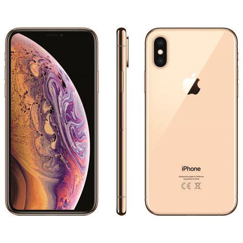 apple iphone xs 256 gb dual sim gold microspot ch