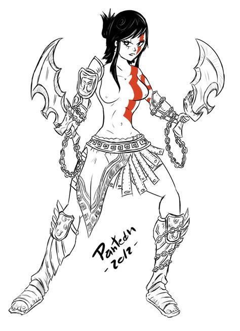 imagenes de kratos para dibujar faciles kratas by donpanteon on deviantart