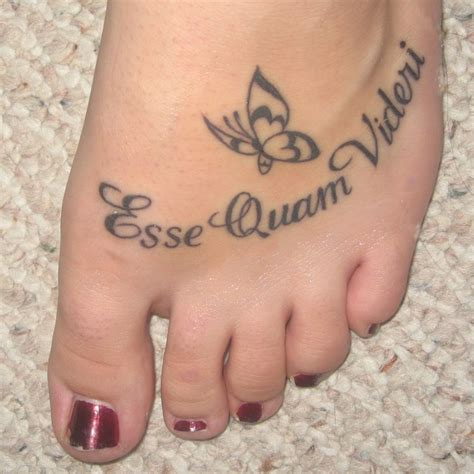 foot tattoo designs with words 15 foot designs for