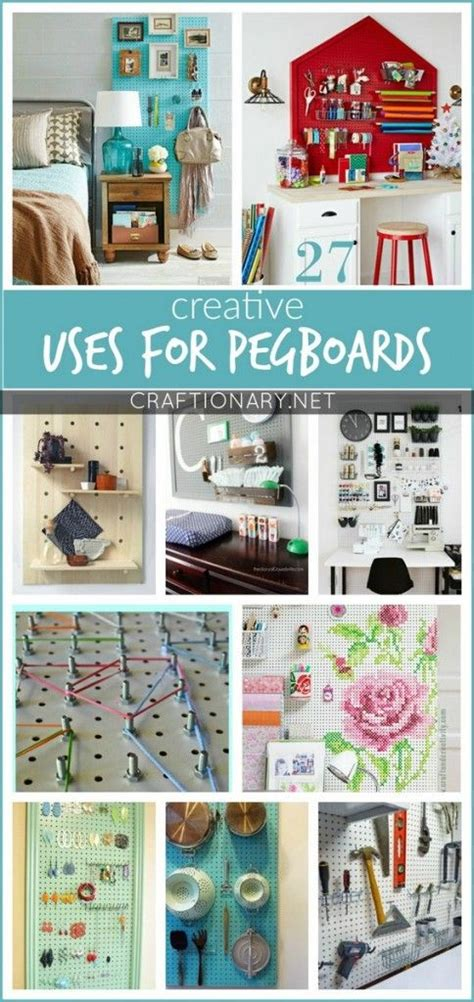 cool pegboard ideas pegboard organization creative and storage ideas on pinterest