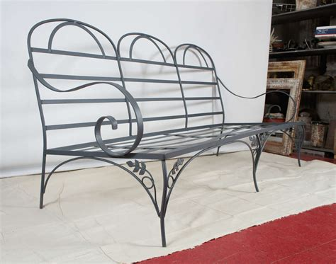 outdoor metal sofa metal garden outdoor sofa at 1stdibs