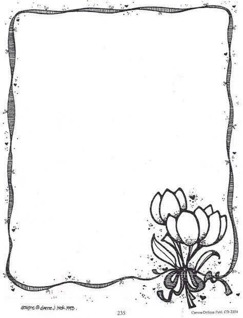 imagenes infantiles en blanco y negro bordes infantiles en blanco y negro para pintar
