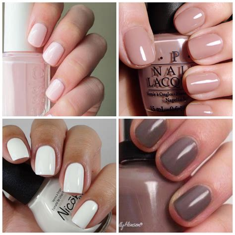 neutral nail colors favorite fall nail pink and running shoes