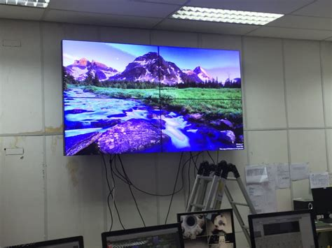 Harga Led Matrix Display jual lcd wall screen samsung did matrix display