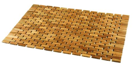 Shower Mats by Conair Teak Roll Up Shower Mat By Oj Commerce 57 04 229 04