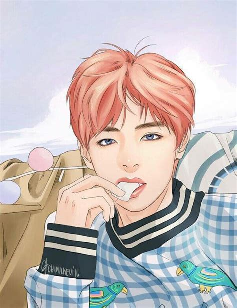 V Anime Bts by 143 Best Images About Bts Fan Arts On Parks