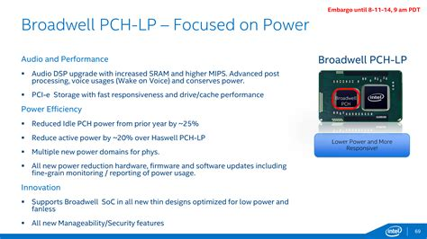 Pch Temperature - putting it all together low power core m intel broadwell architecture preview a
