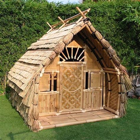 Bamboo Houses by Small Bamboo House House Affair