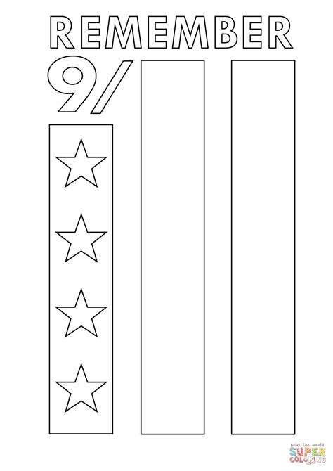 coloring pages of world trade center twin towers coloring page thekindproject