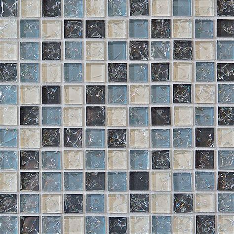 crackle glass tile 1 x 1 crackled glossy glass tile