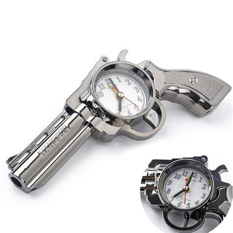novelty pistol gun shape alarm clock desk table home office decor gifts lw ebay