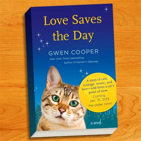 Cooper Saves The Day author gwen cooper sees the world through cat s
