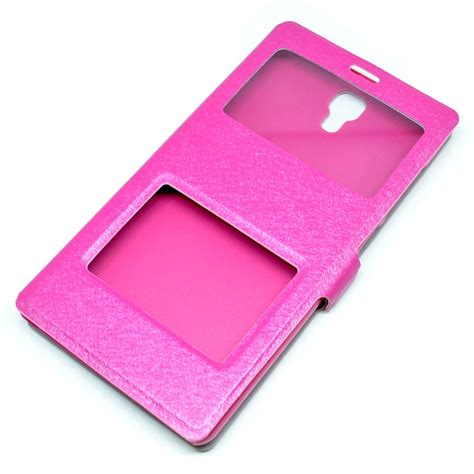 Taff Leather Flip Single Window Xiaomi Mi4 taff leather large flip window for xiaomi redmi note magenta jakartanotebook