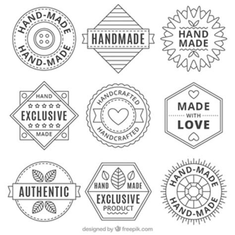What Does Handcrafted - handmade vectors photos and psd files free