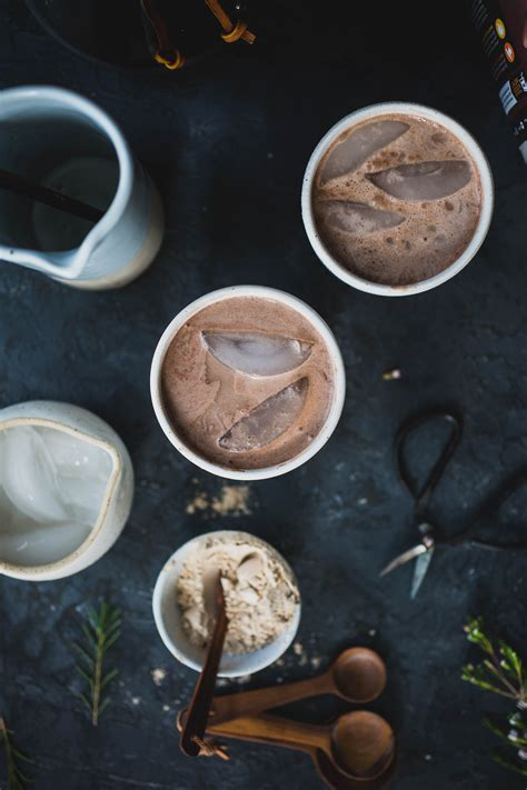 Cocoa Coffee iced cocoa coffee smoothie vegan option a giveaway