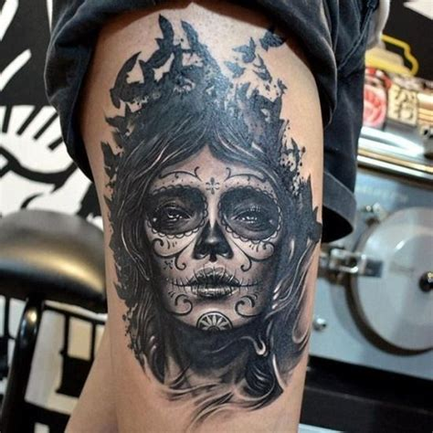 day of the dead skull tattoos for men day of the dead designs for ideas