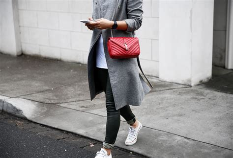 blogger ysl the red saint laurent bag see want shop style blog