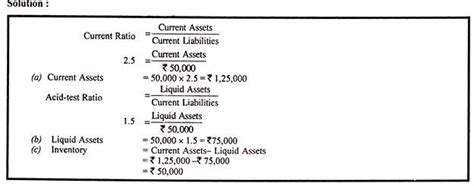 exle of liquid assets how to calculate absolute liquid ratio or ratio with