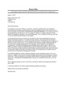 Efficient Cover Letter Example for Senior Director and
