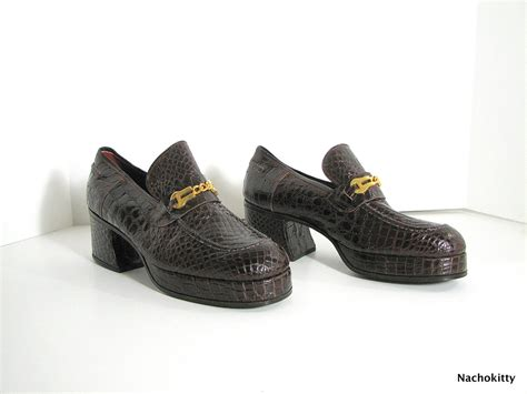 s high end sneakers 1970 s disco shoes high end european mens shoe by barnowlgoods