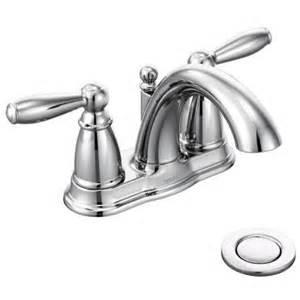 Moen Brantford Kitchen Faucet Oil Rubbed Bronze Moen 6610 Brantford 2 Handle Bathroom Faucet With Drain