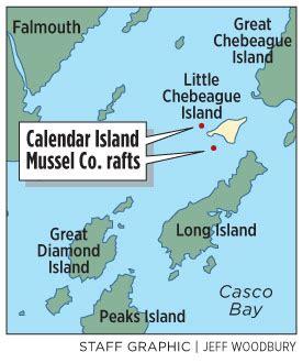 Calendar Island Mussels Mussel Power The Portland Press Herald Maine Sunday