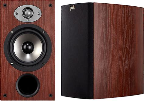 polk audio tsx220b cherry bookshelf speakers at