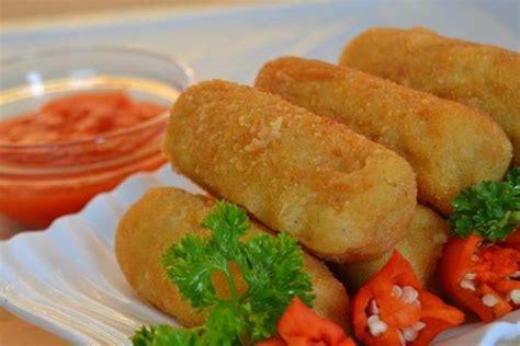 membuat makanan yang ringan resep dan cara membuat kroket kentang yang enak