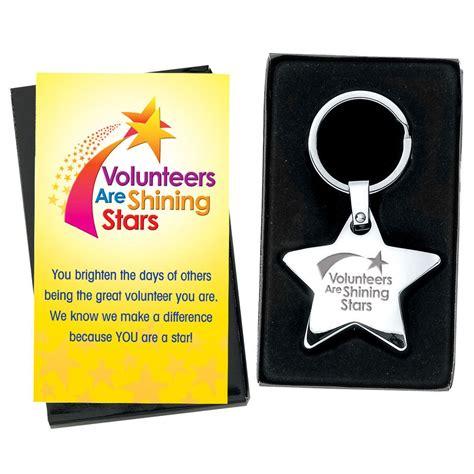 volunteers  shining stars star key tag positive promotions