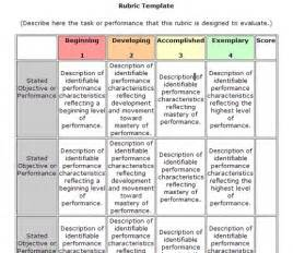 rubric templates search results for editable rubric template calendar 2015