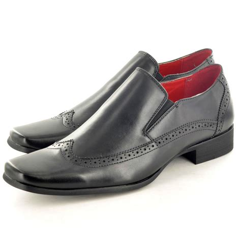 shoes size uk new mens italian style slip on formal casual shoes in uk