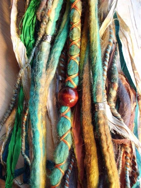 colored dreadlocks colored dreads on
