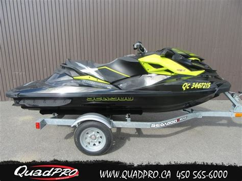 sea doo boat dealers in quebec bombardier sea doo rxp 260 2012 used boat for sale in