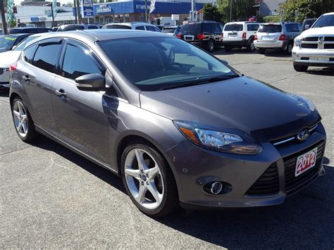2012 ford focus titanium hatchback outside comox valley courtenay comox mobile