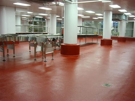 urethane cement flooring create a smooth finish floor