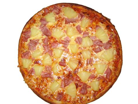 pizza hawaii grosse pizza cm schinken ananas von piz flickr