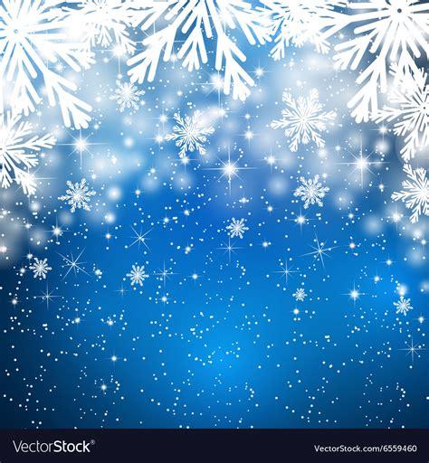 snowflakes background snowflakes background with falling snow royalty free vector