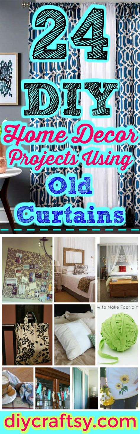 Diy Curtain Decor by 24 Diy Home Decor Projects Using Curtains Diy Crafts