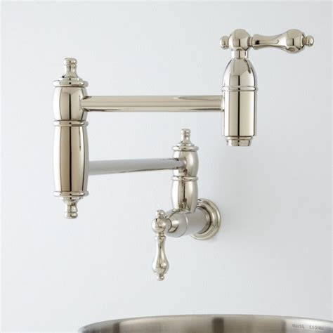 Stove Pot Filler Faucet by 1000 Ideas About Pot Filler Faucet On Pot
