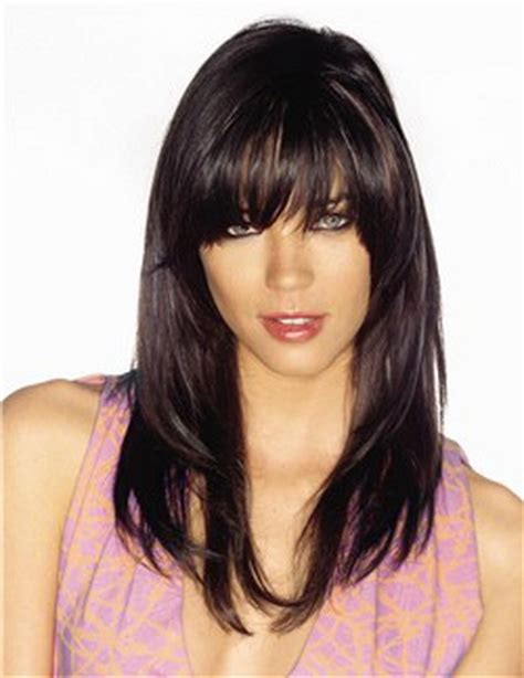 hairstyles to hide your bangs cut shaggy blunt bangs with layers hair beauty