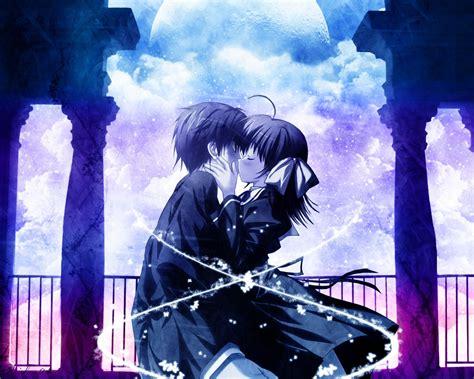 wallpaper anime romantic love anime wallpaper